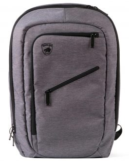 Guard Dog Bulletproof Backpack w-Charging Bank – Grey