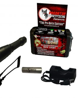 Predator Tactics KillBone Po-Boys Double LED Light Kit Gn-Rd