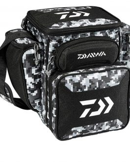 Daiwa D-Vec Tactical Med Soft Sided Tackle Box 9″x13″x14″