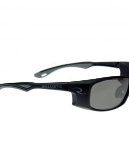 Radians CSB100 Shooting Glasses – Matte Black and Smoke