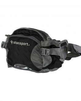 Stansport Waist-Shoulder Pack W-Bottle Holder Black 5 Liter