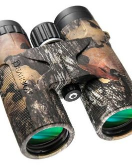 Barska 10×42 WP Blackhawk Green Lens Binoculars in Mossy Oak