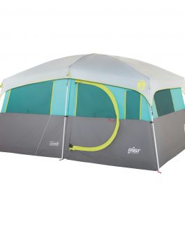 Coleman Tenaya Lake Lighted 8 Person Cabin Tent – Teal-Gray