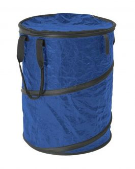 Stansport Collapsible Campsite Carry-All Trash Can Blue