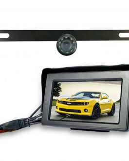 Top Dawg Wireless License Plate Backup Wide Angel HD Camera