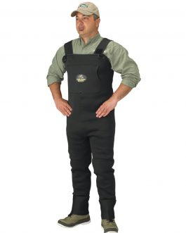 Caddis Men's Neoprene Stockingfoot Waders – M Stout Green