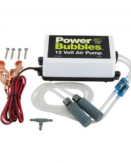 Marine Metal Aeration System   Power Bubbles 12V Dc