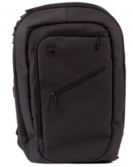 Guard Dog Bulletproof Backpack w-Charging Bank – Black