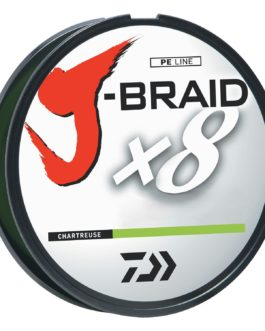 Daiwa J-Braid Chartreuse Fishing Line 330 Yards 10lb Test