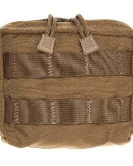 Tac Shield Compact Gear Lined Molle Pouch Coyote